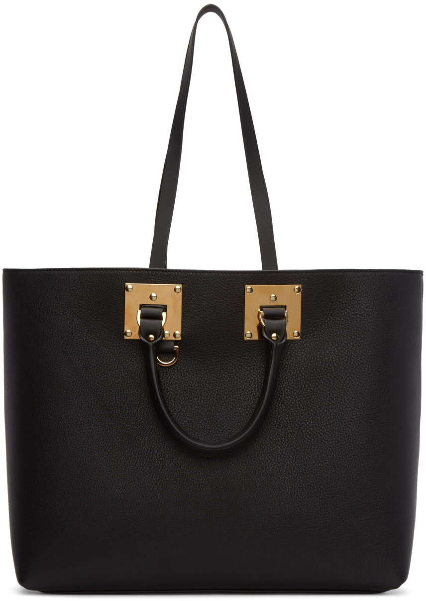 Sophie Hulme Black Cromwell East West Shopper