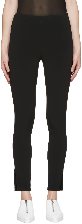 Calvin Klein Collection Black Hugh Trousers