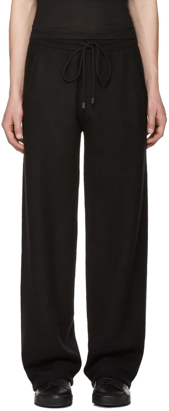 Calvin Klein Collection Black Cashmere Redel Lounge Pants