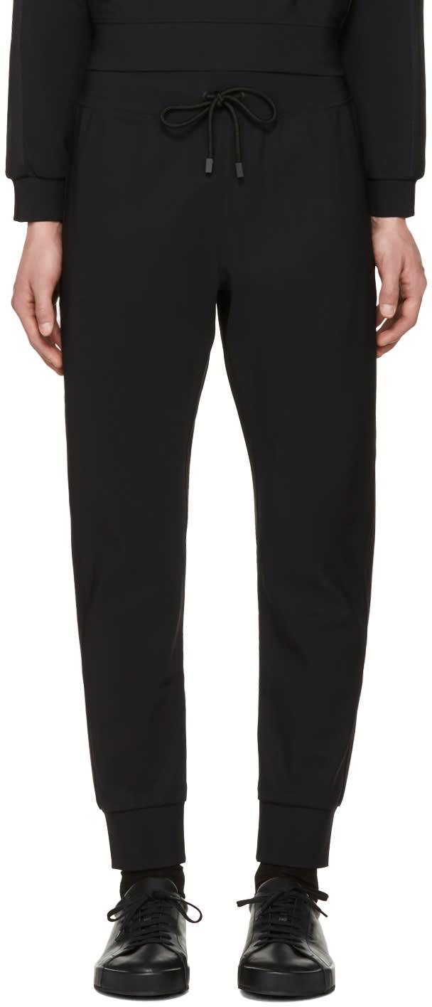 Calvin Klein Collection ブラック ペルマン ラウンジ パンツ