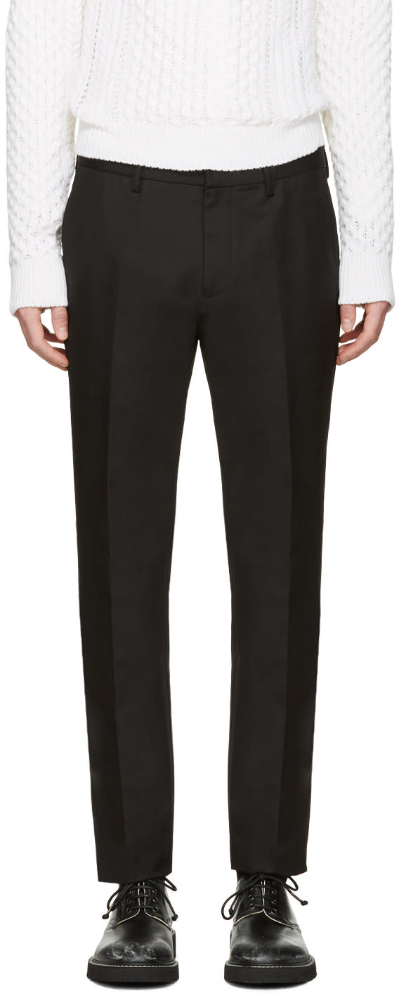 Image of Calvin Klein Collection Black Crosby Trousers