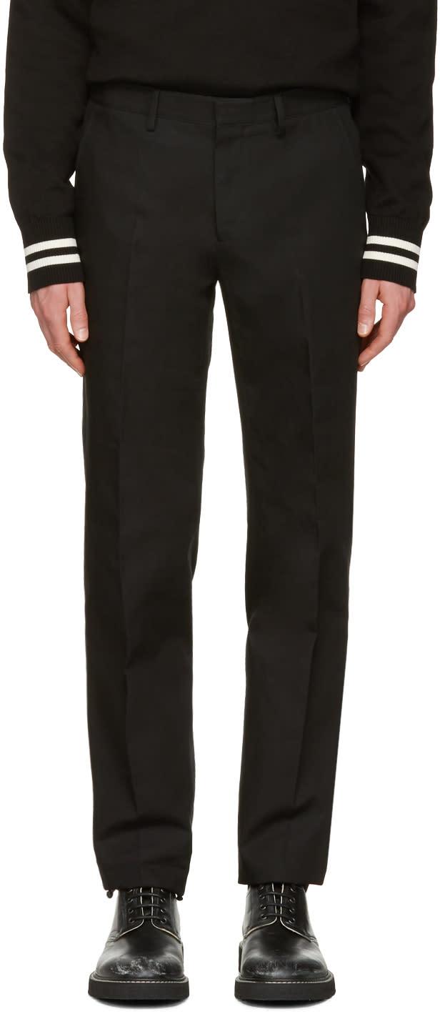 Calvin Klein Collection Black Exact Trousers