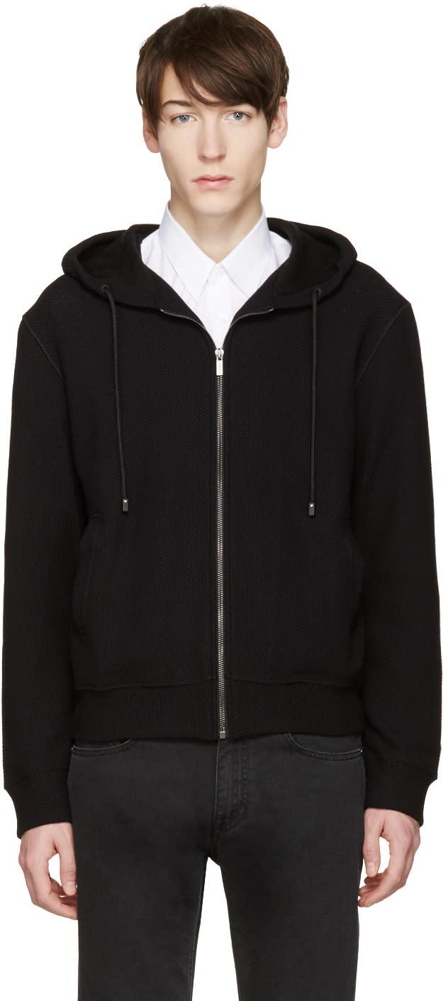 Calvin Klein Collection ブラック ペルバー フーディ