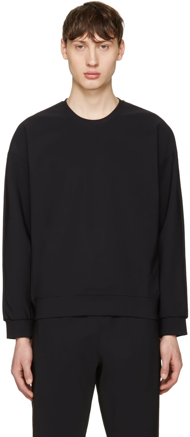 Calvin Klein Collection Black Pavan Pullover