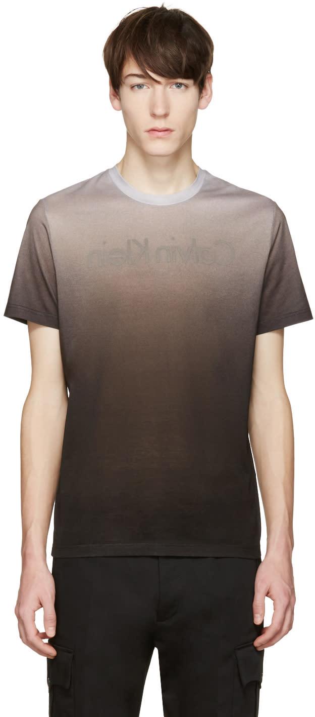 Calvin Klein Collection Grey Podlas T-shirt