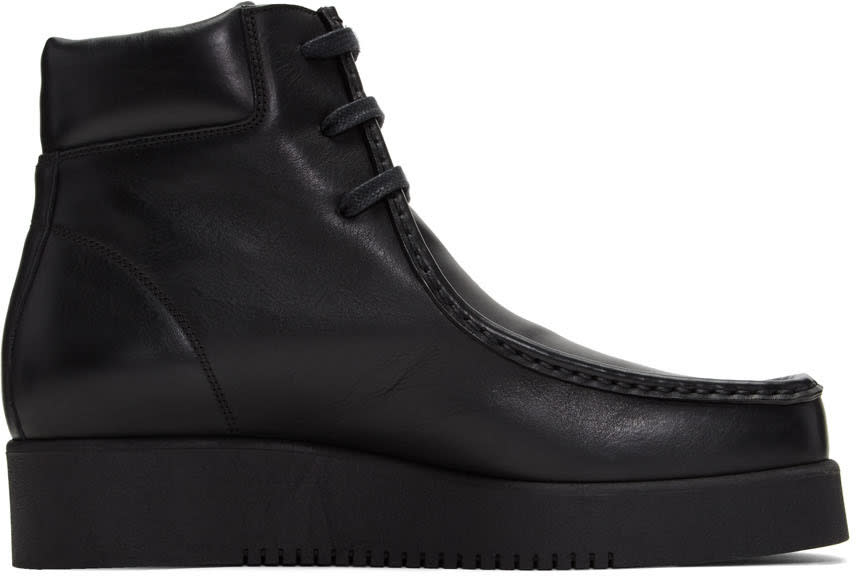 Calvin Klein Collection Black Wally Boots