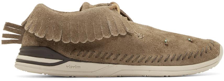 Visvim Tan Maliseet Shaman-folk Moccasin Sneakers