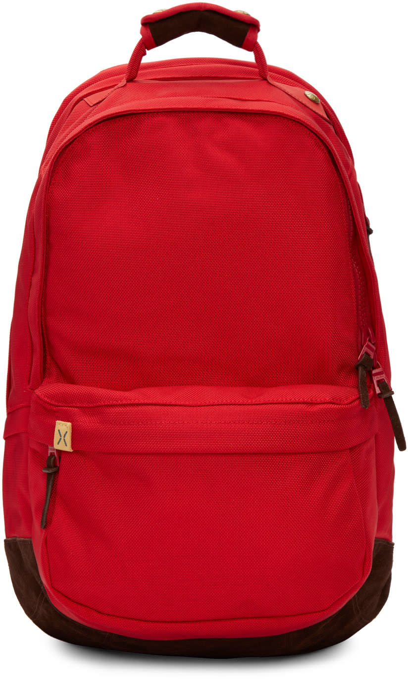Visvim Red Ballistic 22l Backpack