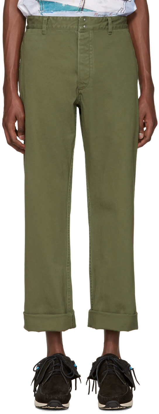 Visvim Green Pastoral Trousers