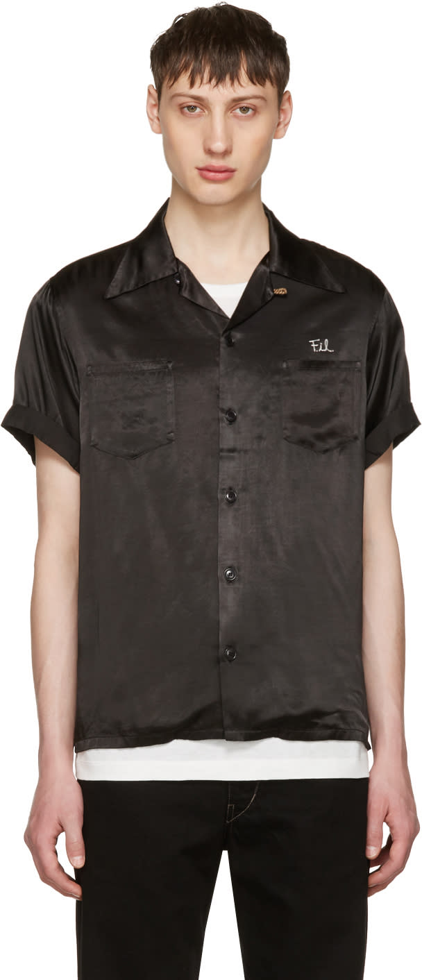 Visvim Black peerless Irving Shirt