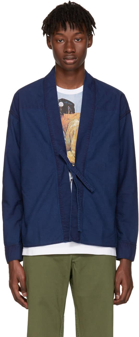 Visvim Indigo Lhamo Shirt