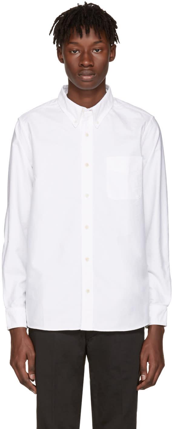 Visvim White Albacore Bamboo Shirt