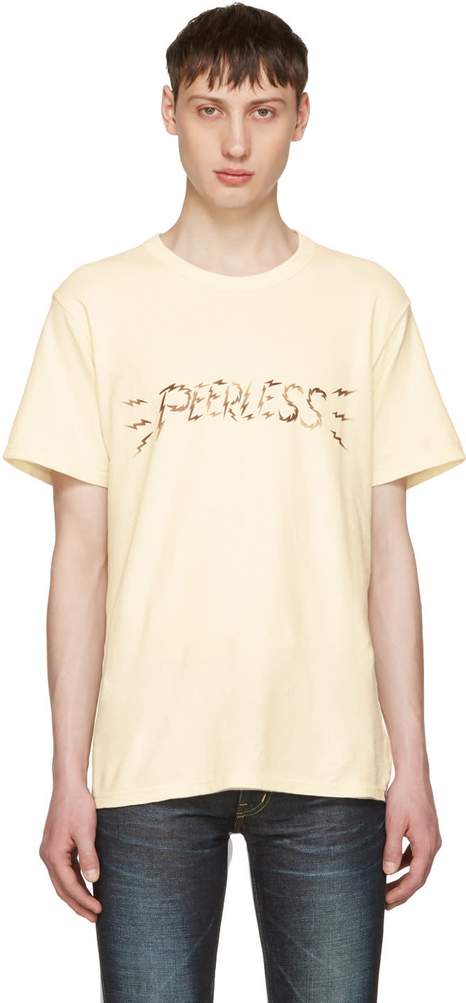 Visvim Off-white peerless T-shirt