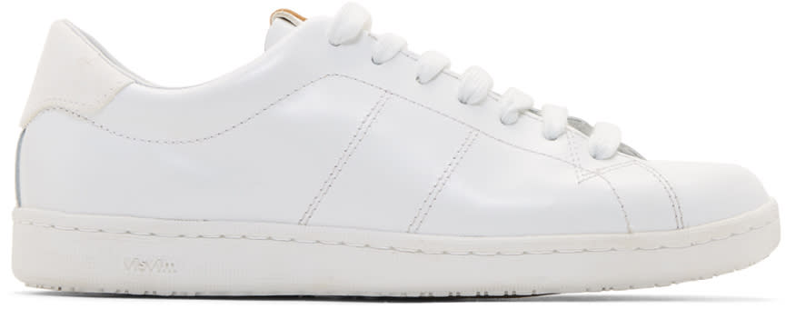 Visvim White Foley-folk Sneakers
