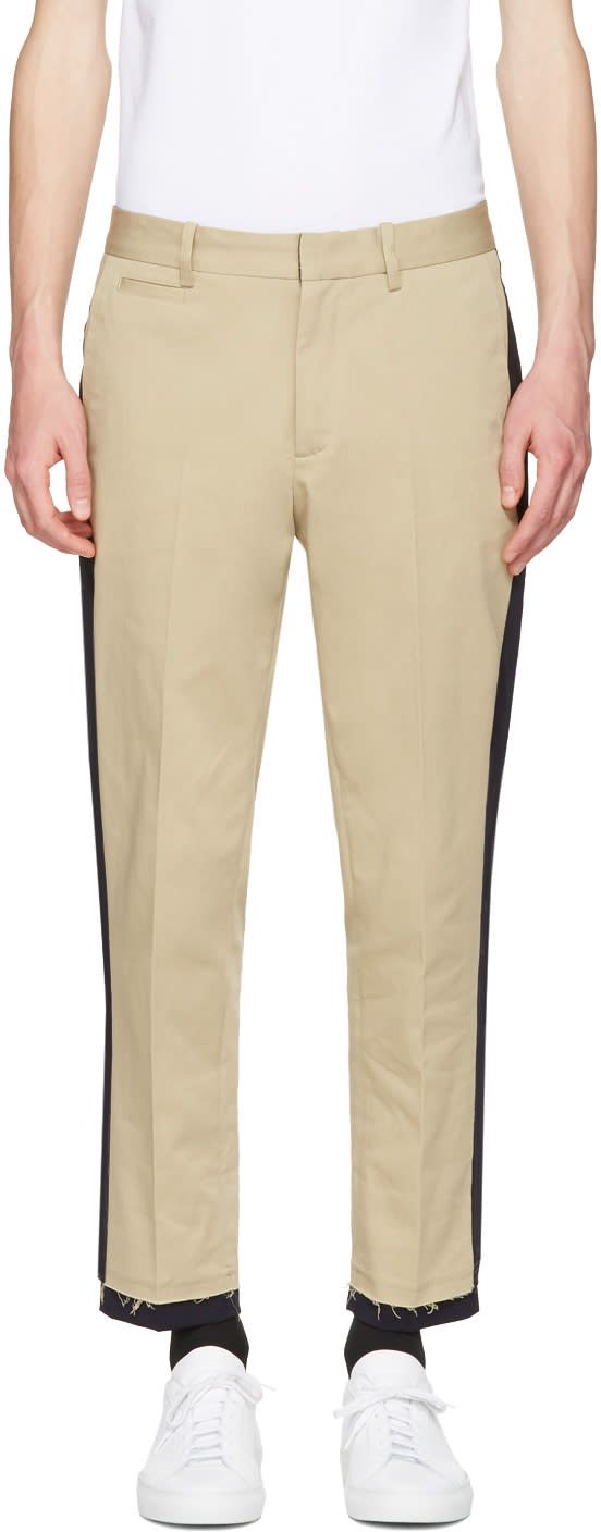 Tim Coppens Tan Chino Trousers
