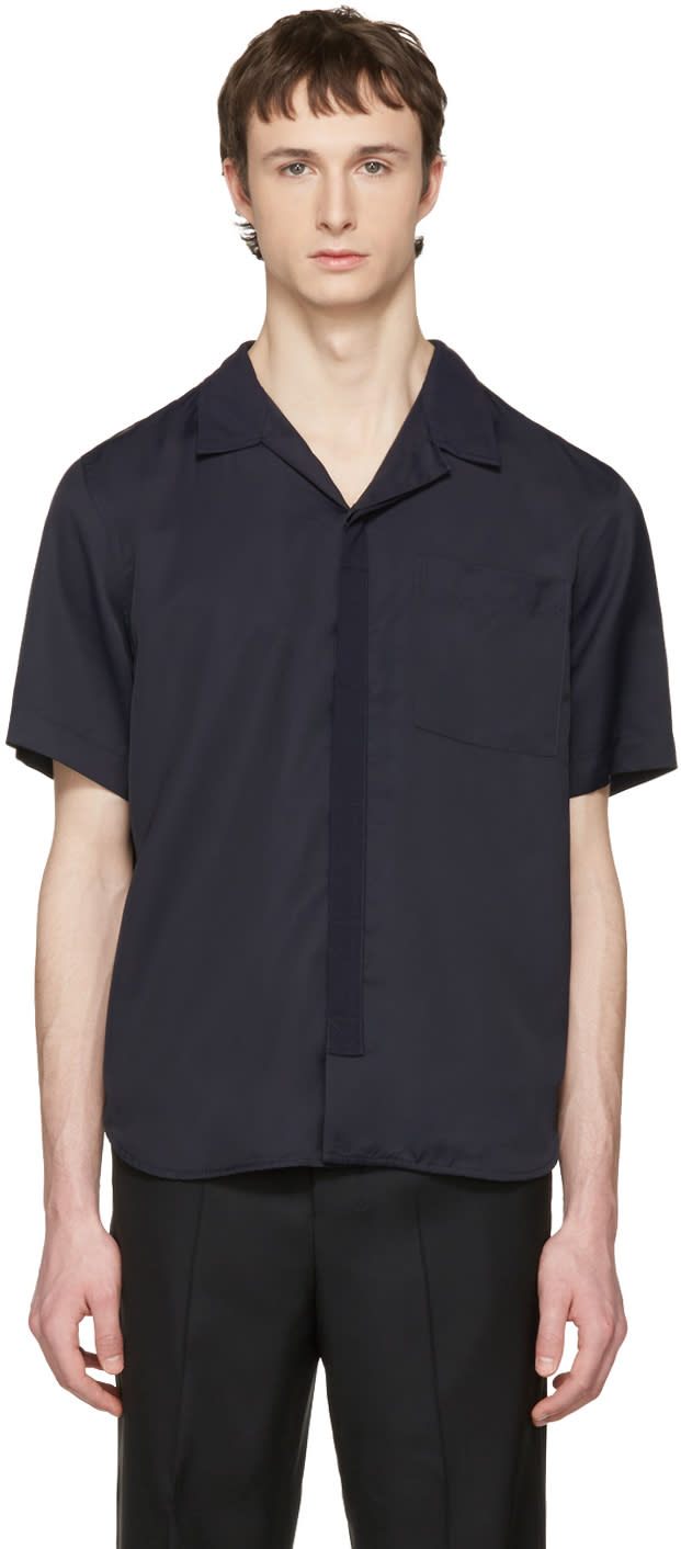 Tim Coppens Navy Bowling Shirt