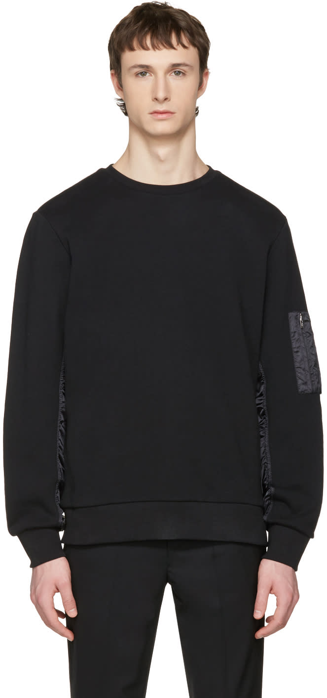 Tim Coppens Black Ma-1 Pullover