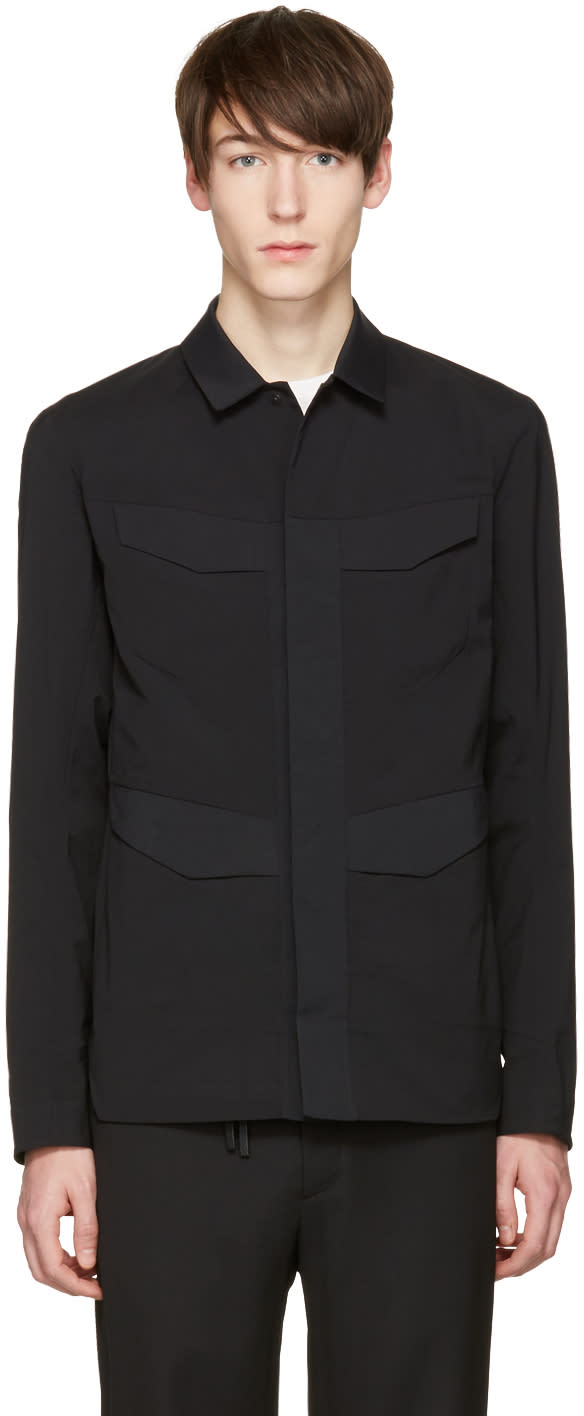 Image of Arcteryx Veilance Black Field Shirt