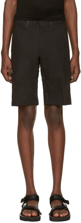 Arcteryx Veilance Black Apparat Shorts