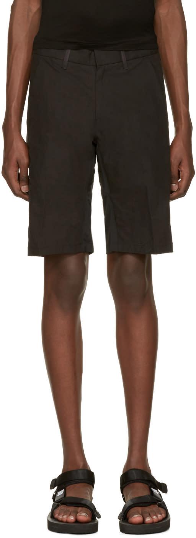 Image of Arcteryx Veilance Black Apparat Shorts