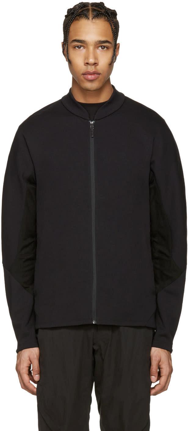 Arcteryx Veilance Black Dyadic Zip-up Sweater