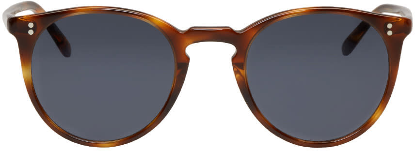 Oliver Peoples Tortoiseshell The Row Edition Omalley Nyc Sunglasses