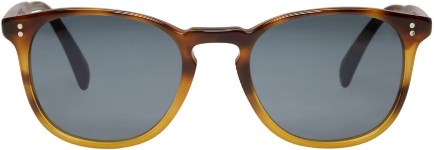 Oliver Peoples トータスシェル フィンリー サングラス