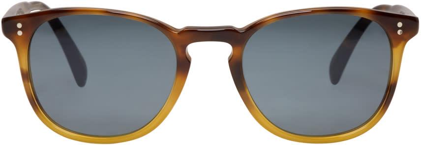 Oliver Peoples Tortoiseshell Finley Sunglasses