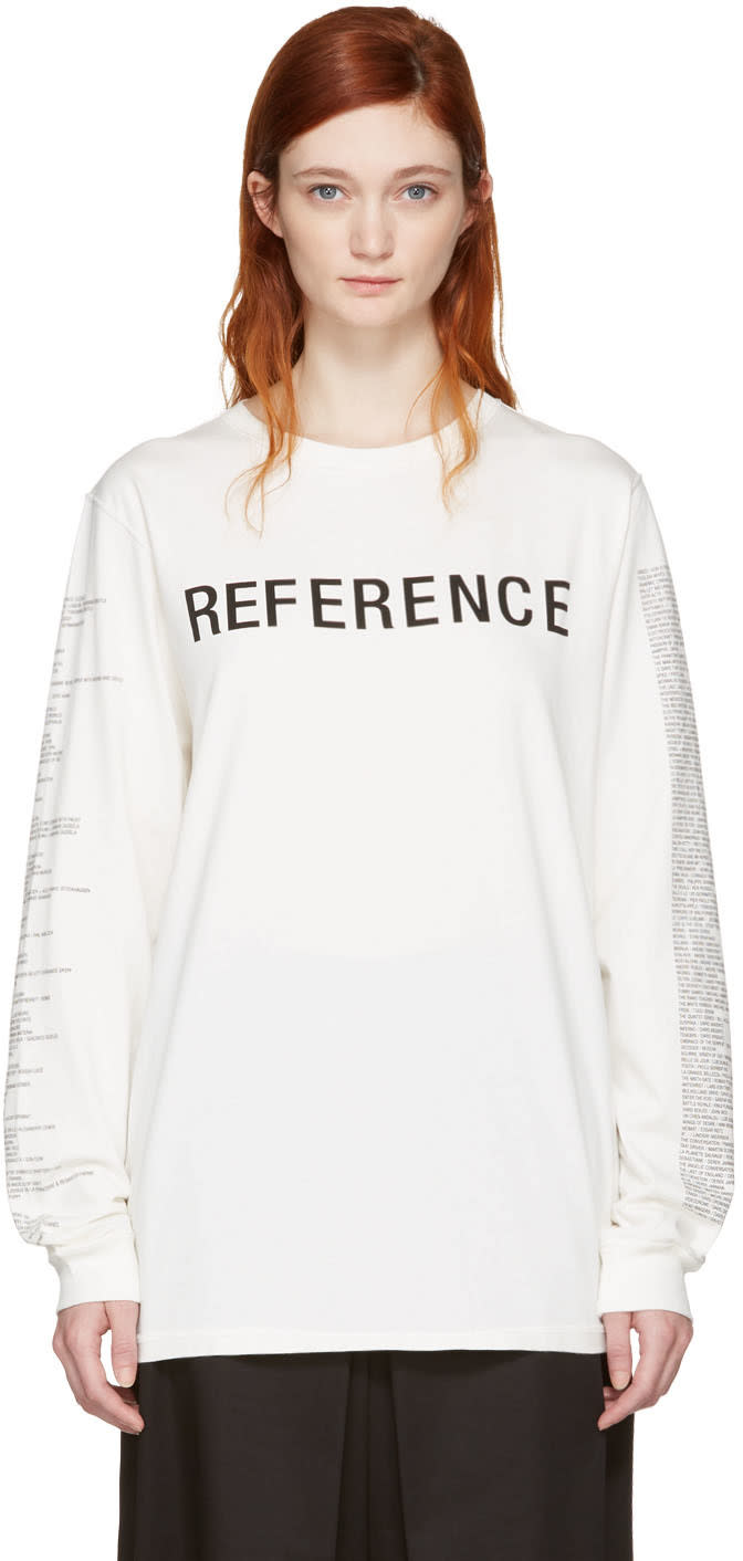 Yang Li Off-white reference T-shirt