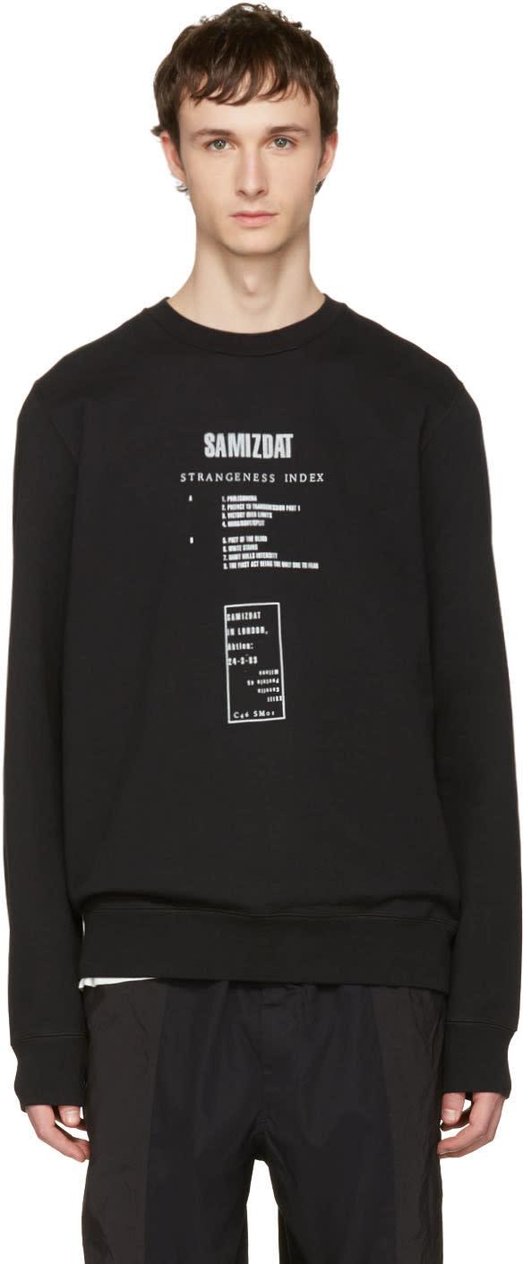 Yang Li Black samizdat Album Sweatshirt