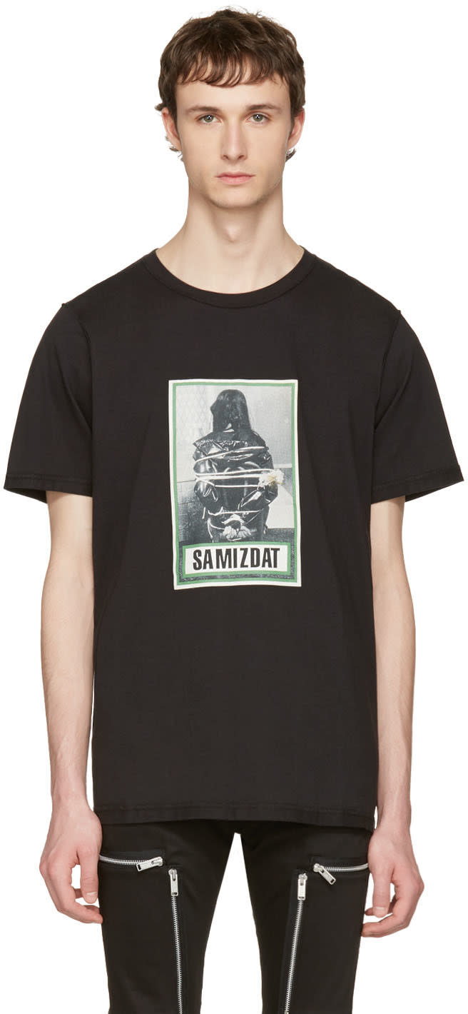 Yang Li Black samizdat Tour T-shirt