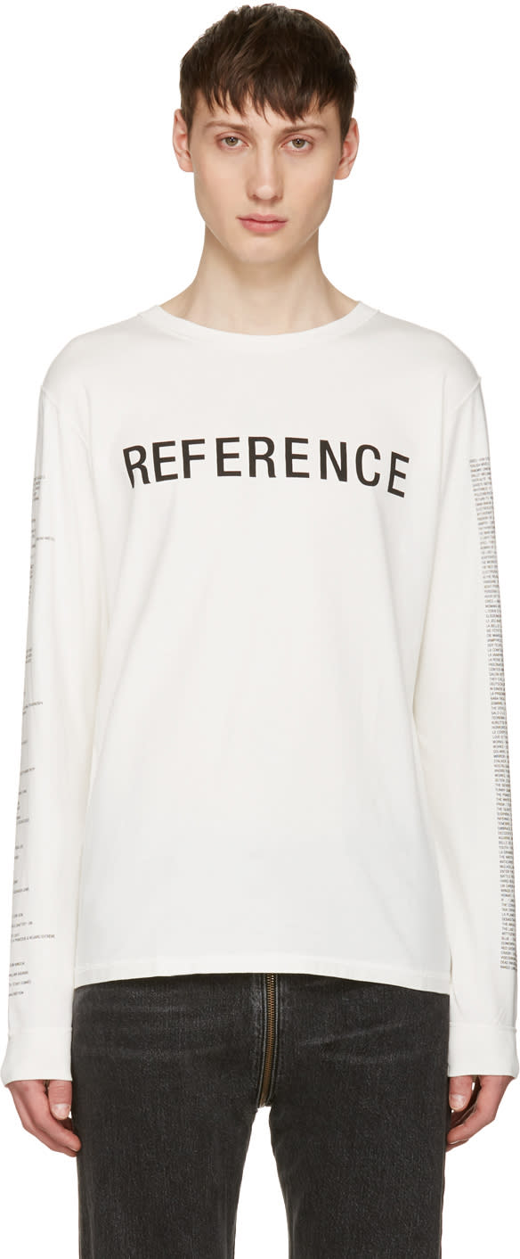 Yang Li White reference T-shirt