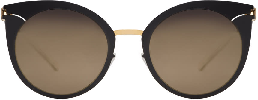 Mykita Black Giulietta Decades Sunglasses