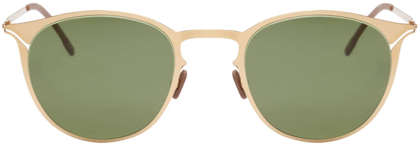 Mykita Gold Karli Lite Sunglasses