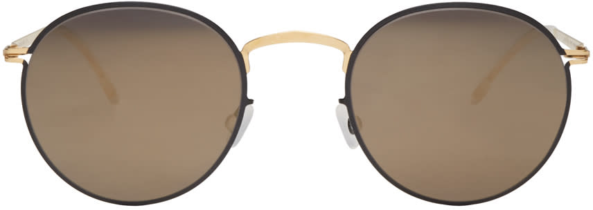 Mykita Black Gianni Decades Sunglasses