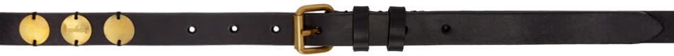 Kolor Black and Gold Disc Belt