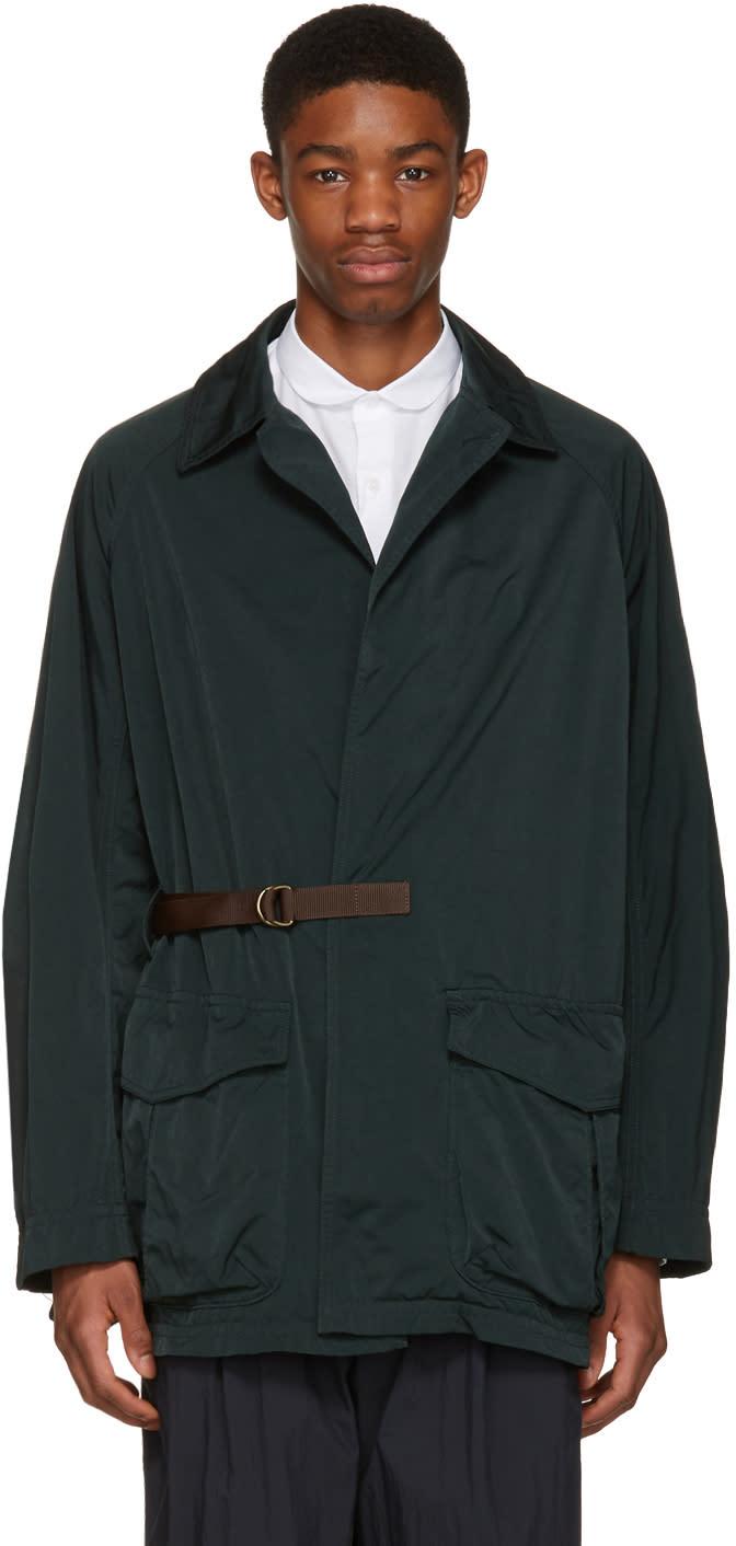 Kolor Green Side Tie Jacket