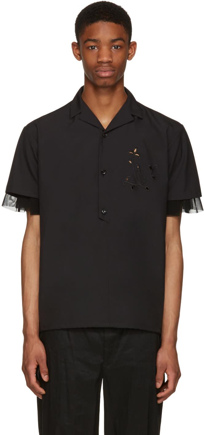 Kolor Black Button-down Shirt