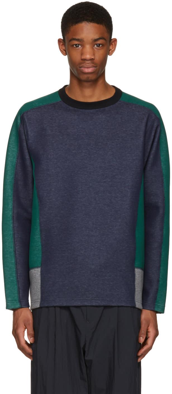 Kolor Navy Contrast Pullover