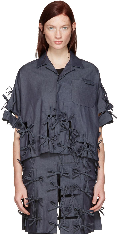 Facetasm Indigo Ties Shirt