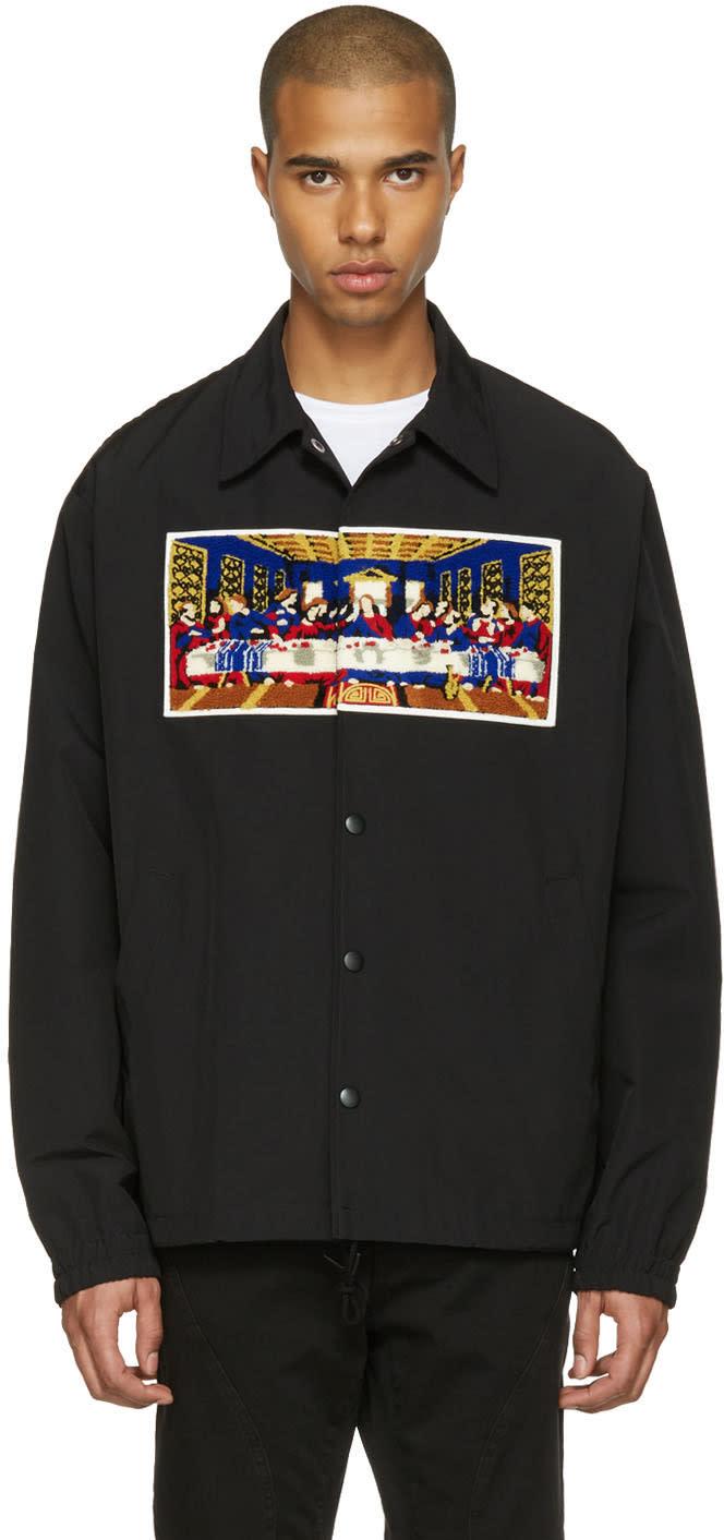 Facetasm Black Last Supper Short Jacket