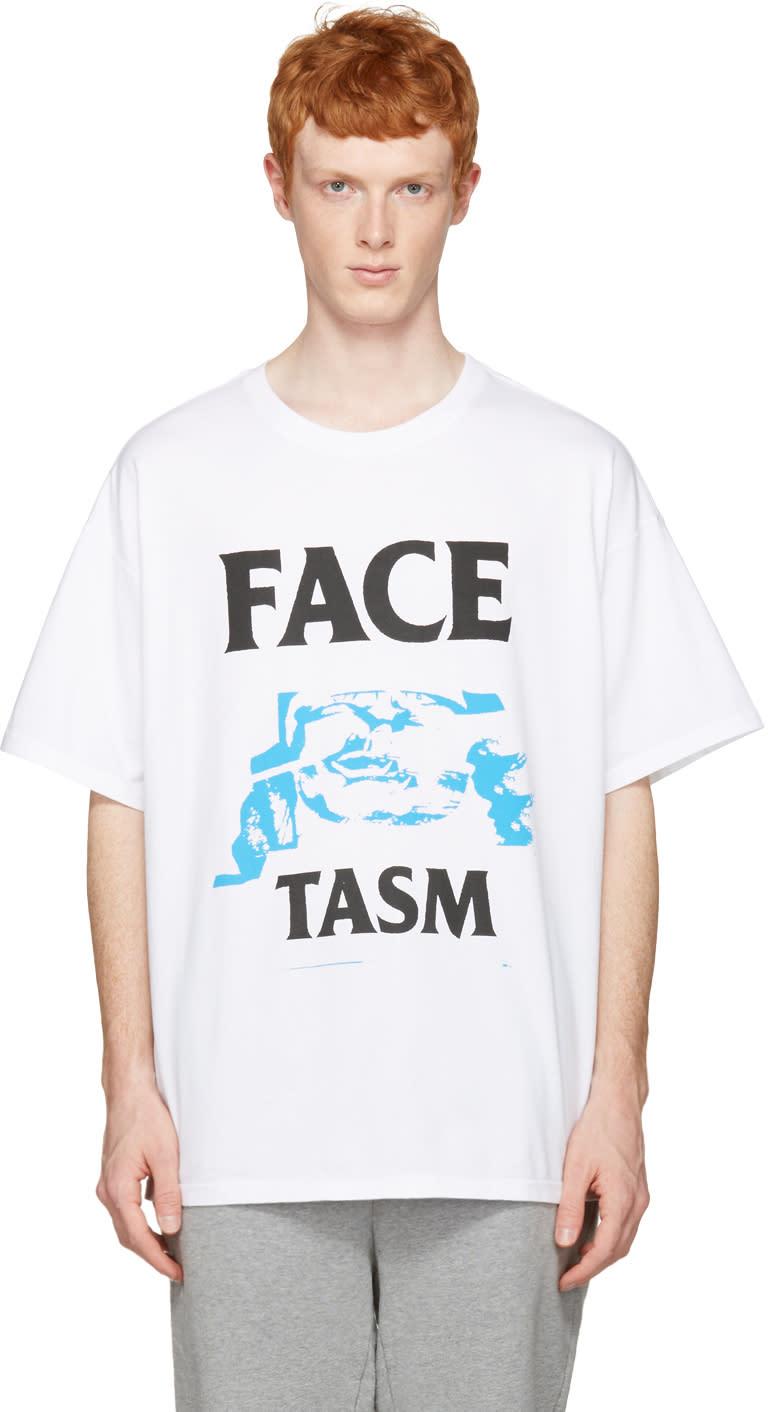 Facetasm White Logo T-shirt