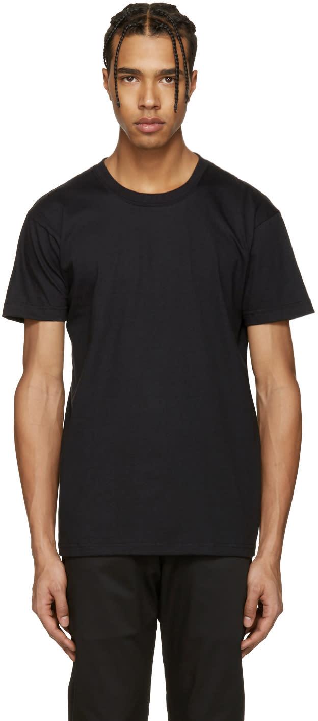 Naked and Famous Denim Black Ring-spun T-shirt
