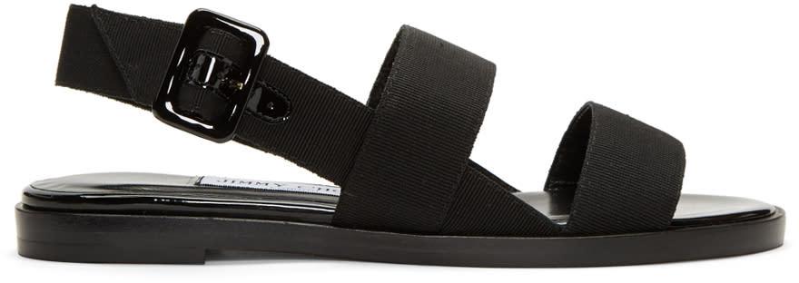 Jimmy Choo Black Deluxe Sandals