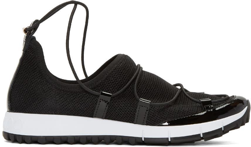 Jimmy Choo Black Andrea Low-top Sneakers