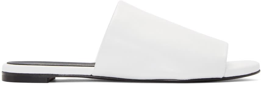 Robert Clergerie White Gatom Sandals