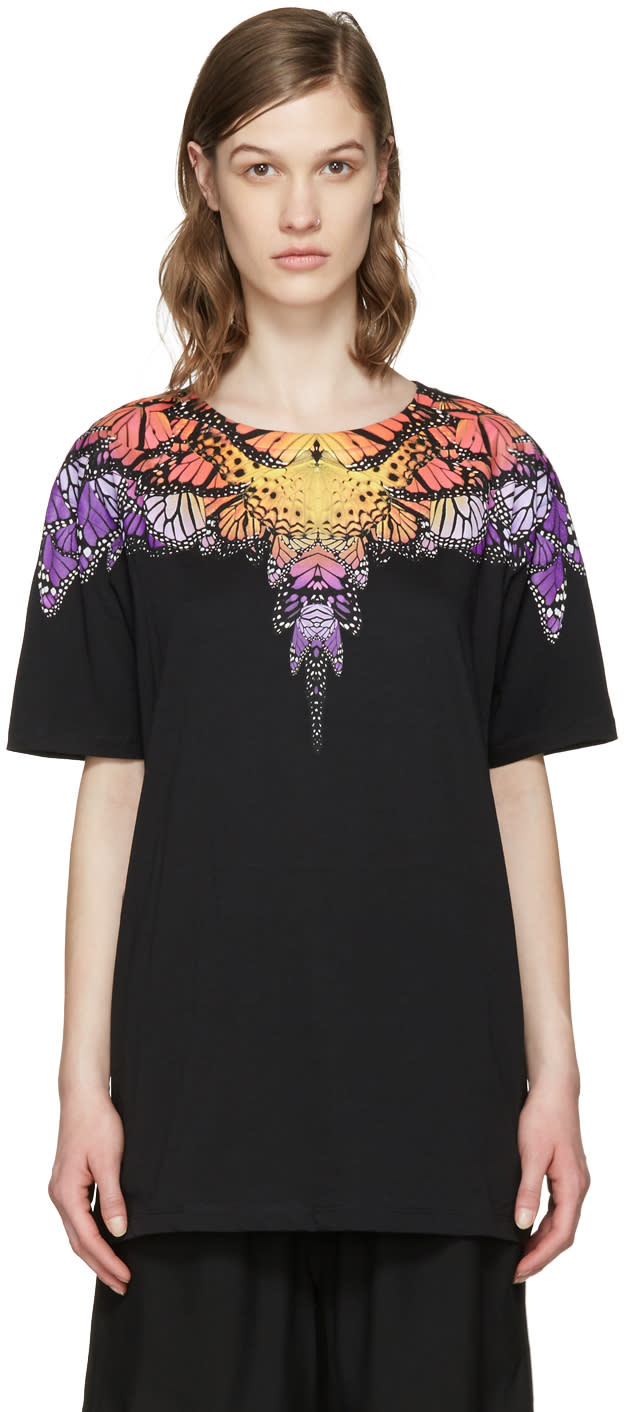 Marcelo Burlon County Of Milan Black Filipa T-shirt