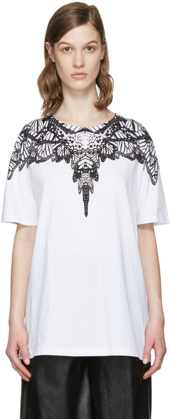 Marcelo Burlon County Of Milan White Ofelia T-shirt