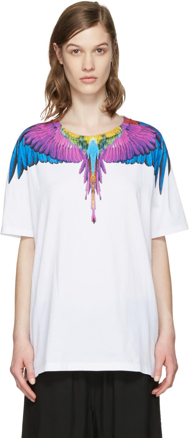 Marcelo Burlon County Of Milan White Yona T-shirt