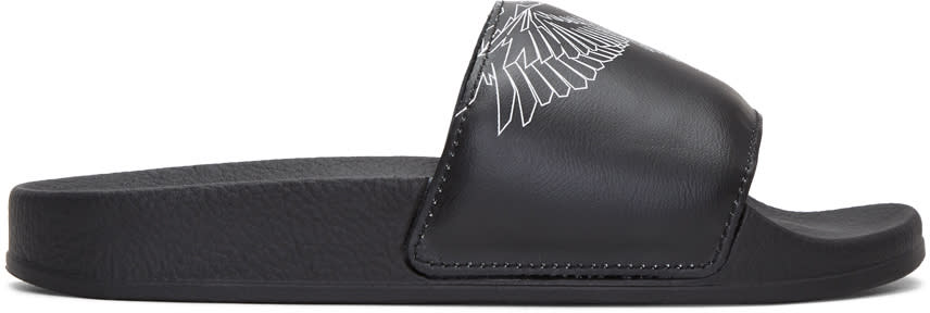 Marcelo Burlon County Of Milan Black Amber Sandals